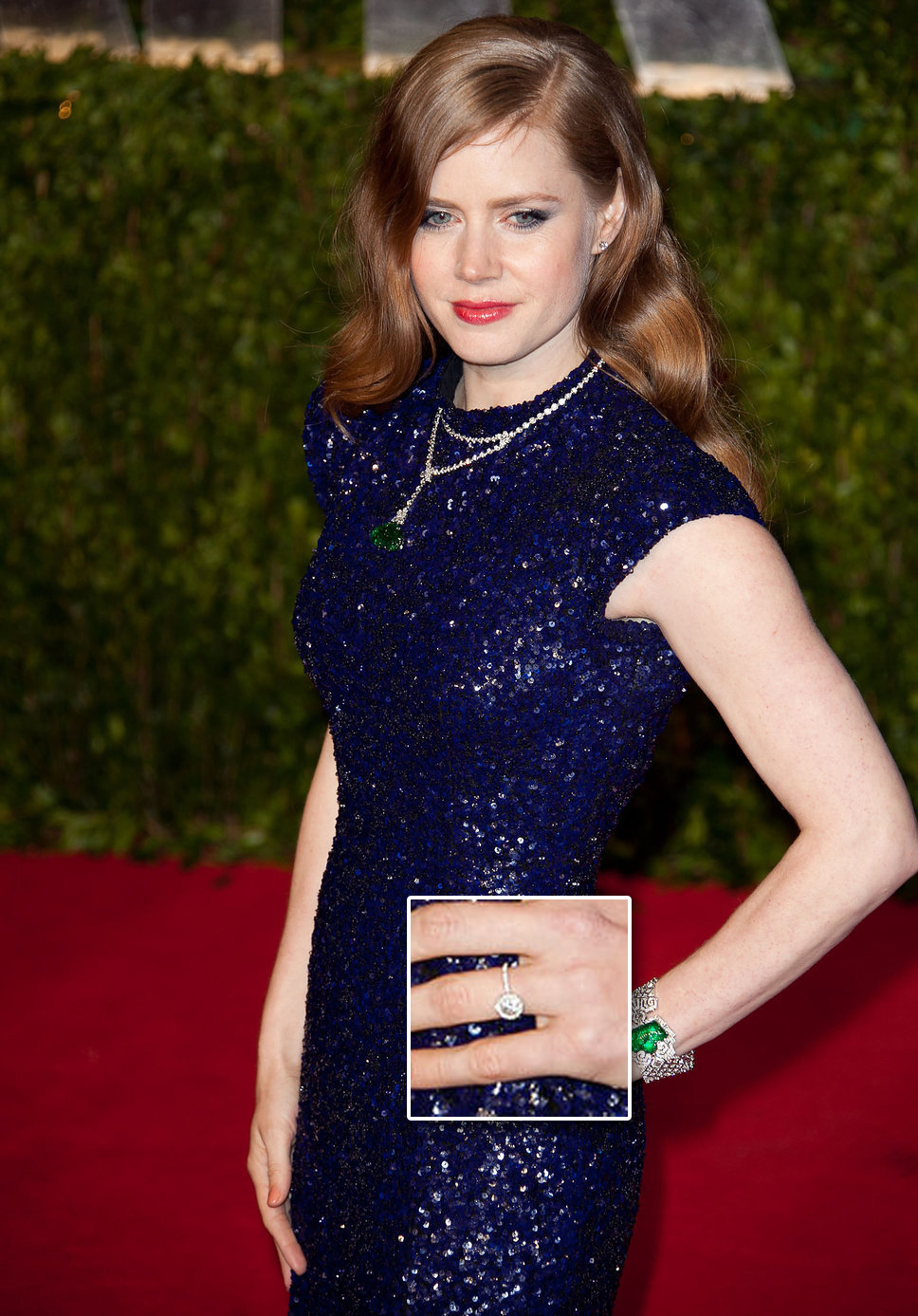 http://www.posh24.com/photo/1027493/amy_adams_blue_sequin_dress_emerald_necklace_and_ring_red_hair